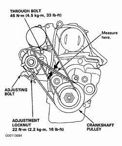 1992 Honda Civic Serpentine Belt Routing And Timing Belt