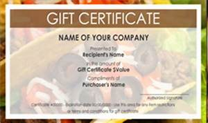 Personal Business Card Designs Mexican Restaurant Gift Certificate Templates Easy To