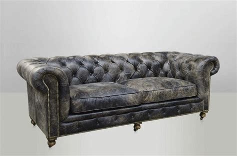 canape chesterfield cuir vieilli canape chesterfield cuir toulouse design