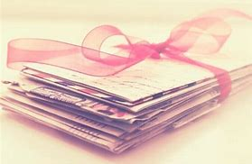 Image result for love letters wrapped in ribbon