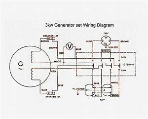Generator Wiring Diagram And Electrical Schematics Pdf