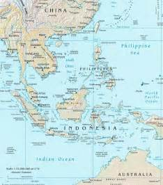 Southeast Asia and Australia Map