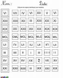 20 En Chiffre Romain : retrouver les chiffres romains identiques ~ Melissatoandfro.com Idées de Décoration