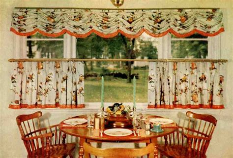 vintage decorating ideas for kitchens 15 cafe curtain designs and ideas retro renovation
