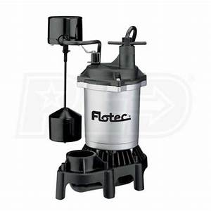 Flotec Fpzs33v  3 Hp Thermoplastic Base  U0026 Zinc Housing