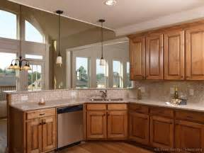 Picture Kitchen Traditional Medium Wood Golden Modern Kitchen Paint Colors With Oak Cabinets