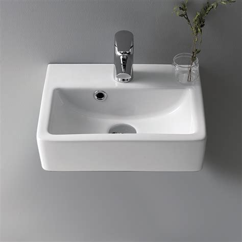 Small Wall Mounted Bathroom Sink by Cerastyle 001400 U By Nameek S Mini Small Ceramic Wall