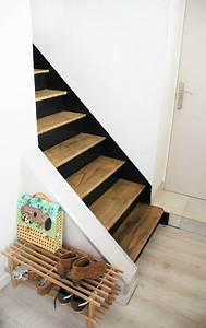 les 25 meilleures idees de la categorie escaliers modernes With peindre escalier en bois 9 paravent en bois sur mesure par allure et bois