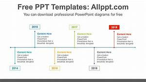 Simple Line Powerpoint Diagram Template