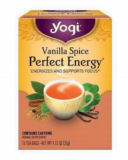 Tea Energy Yogi Vanilla Spice Perfect Mint