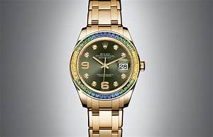 Die Oyster Perpetual Datejust Pearlmaster Von Rolex
