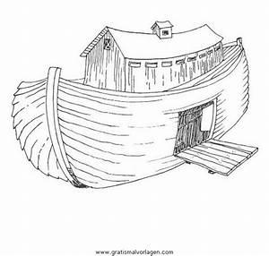 Arche Noah 01 Gratis Malvorlage In Arche Noah Religionen