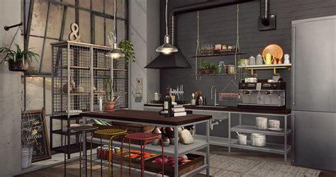 kitchen    love  interior setup indus