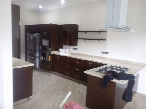 cocinas integrales gama alta corian granito alto brillo  en mercado libre