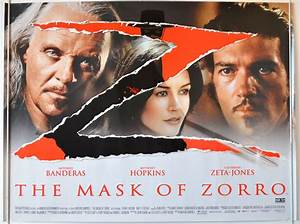 Mask Of Zorro (The) - Original Cinema Movie Poster From ...
