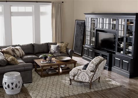 Living Room Sectionals by Shop Sectionals Leather Living Room Sectionals Ethan