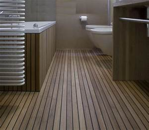 parquet and decking designed to make a house your home With teak tiles bathroom