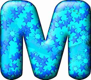 Presentation Alphabets: Party Balloon Cool Letter M
