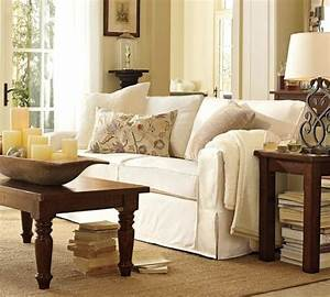 Pb comfort square slipcovered sofa pottery barn sofas for Pottery barn comfort sofa