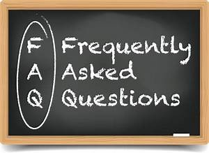 Frequently Asked Questions - FAQ Questions and Answers