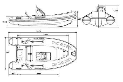 Rib Boat Dimensions boat dimensions images search