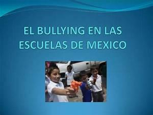 tok presentation el bullying en las escuelas de mexico