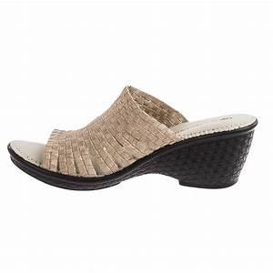 bernie mev Kent Wedge Sandals (For Women) - Save 77%