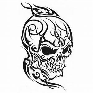 Dessin Tete De Mort Avec Rose : t te de mort coloriages autres ~ Melissatoandfro.com Idées de Décoration