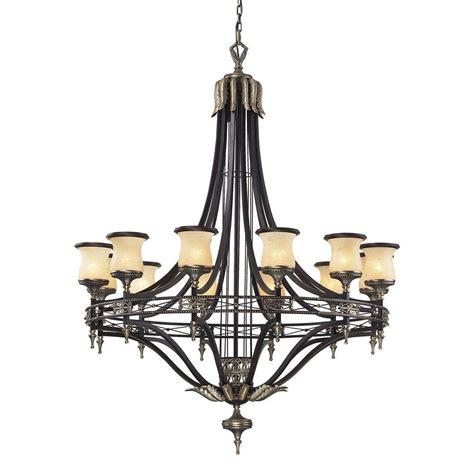 ceiling mount chandelier titan lighting cambridge 12 light moonlit rust ceiling