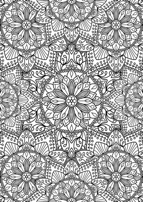 collection  flower mandalas hope