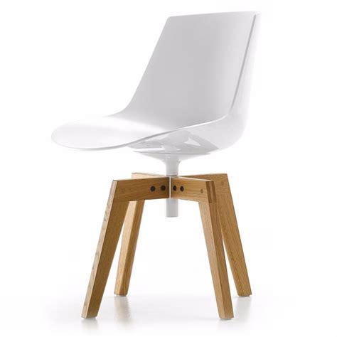 Mdf Italia Flow Chair by Flow Chair Mdf Italia Mit Eichengestell Ungepolstert