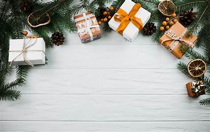 Gift Gifts Weihnachtszweig Tree Wallpapers Resolution Wooden