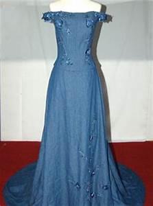 1000 images about denim wedding dress on pinterest for Western denim wedding dresses