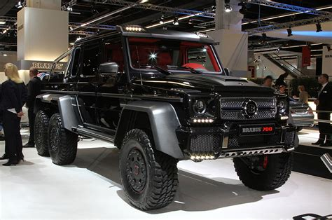 mercedes 6 wheel pickup brabus b63 s because the mercedes benz g63 amg 6x6 wasn t