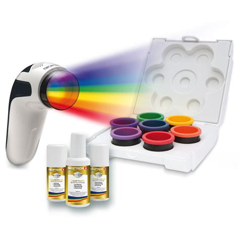 bioptron light therapy booklet bioptron color light therapy set