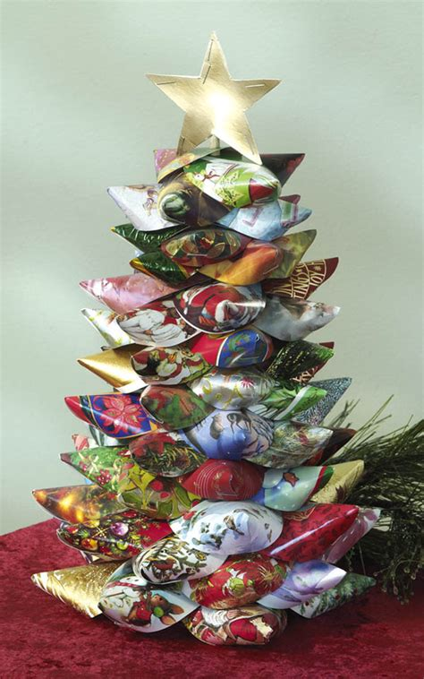 craft ideas christmas card tree fun family crafts