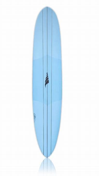 Longboard Surfboard Pinner Thru Blended Concave Nose