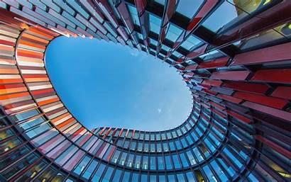 Architecture Oval Wallpapers Office Eye Desktop Worm