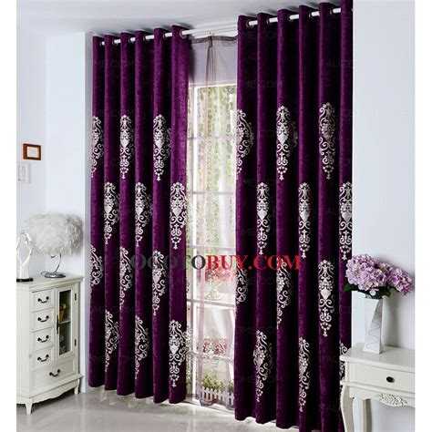 stunning purple curtains home and textiles
