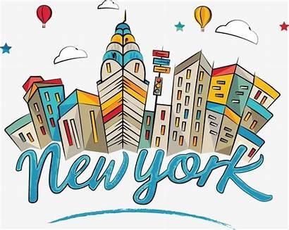 York State Building Empire Cartoon Clipart Landmark