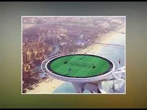 World's Highest Tennis Court at Burj Al Arab, Dubai ...