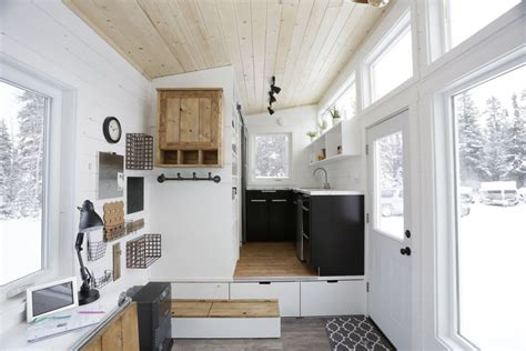kitchen diy cabinets quot open concept rustic modern quot diy tiny house by white 1561