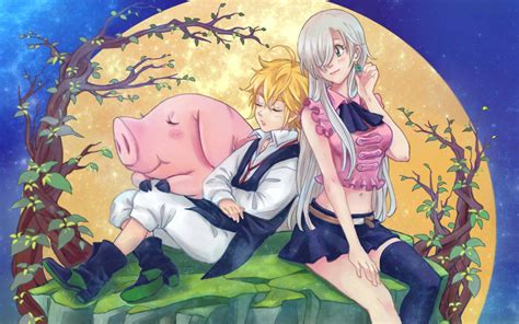 Seven Deadly Sins Wallpaper Anime - seven deadly sins anime wallpaper 183 free