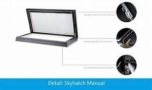 Handmatig Dakluik - Skyhatch Manual Rooflight