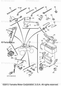Yamaha Atv 2005 Oem Parts Diagram For Electrical