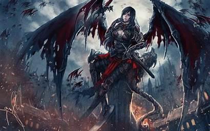 Demonic Demon Fantasy Angel Evil Artwork Wallpapers