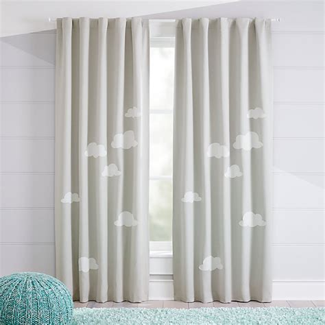 Cloud Blackout Curtains | Crate and Barrel