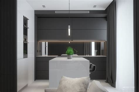 Two Black And Gray Homes With Chic Simplicity by 2552 Best Kitchen Designs Images On