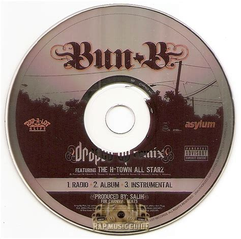 draped up remix bun b draped up remix promo single cd rap guide
