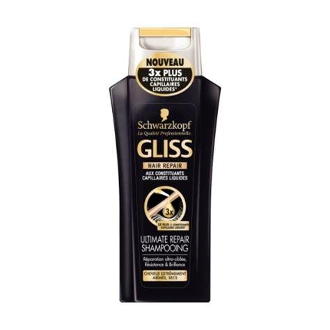 gliss ultimate repair shampooing de schwarzkopf